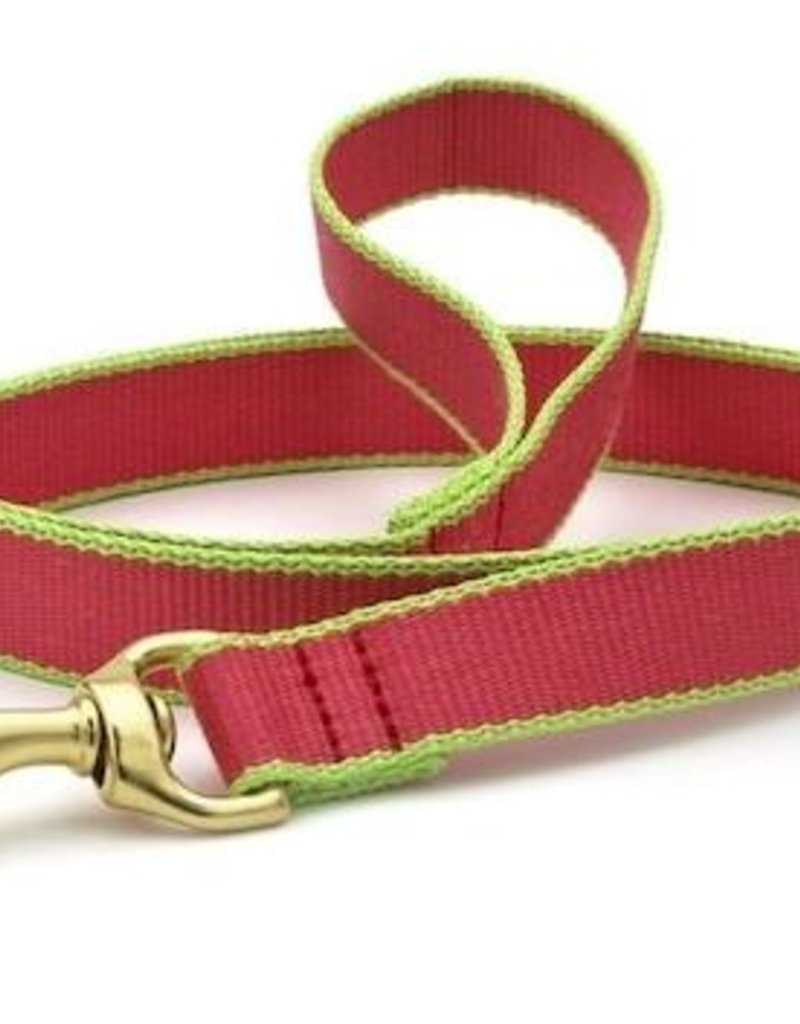 Up Country Up Country Leash Pink/Lime Bamboo