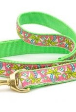 Up Country Up Country Leash Pink Palms Nar 6'