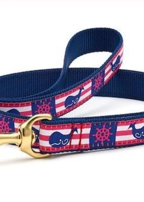 Up Country Up Country Leash Whale Stripe
