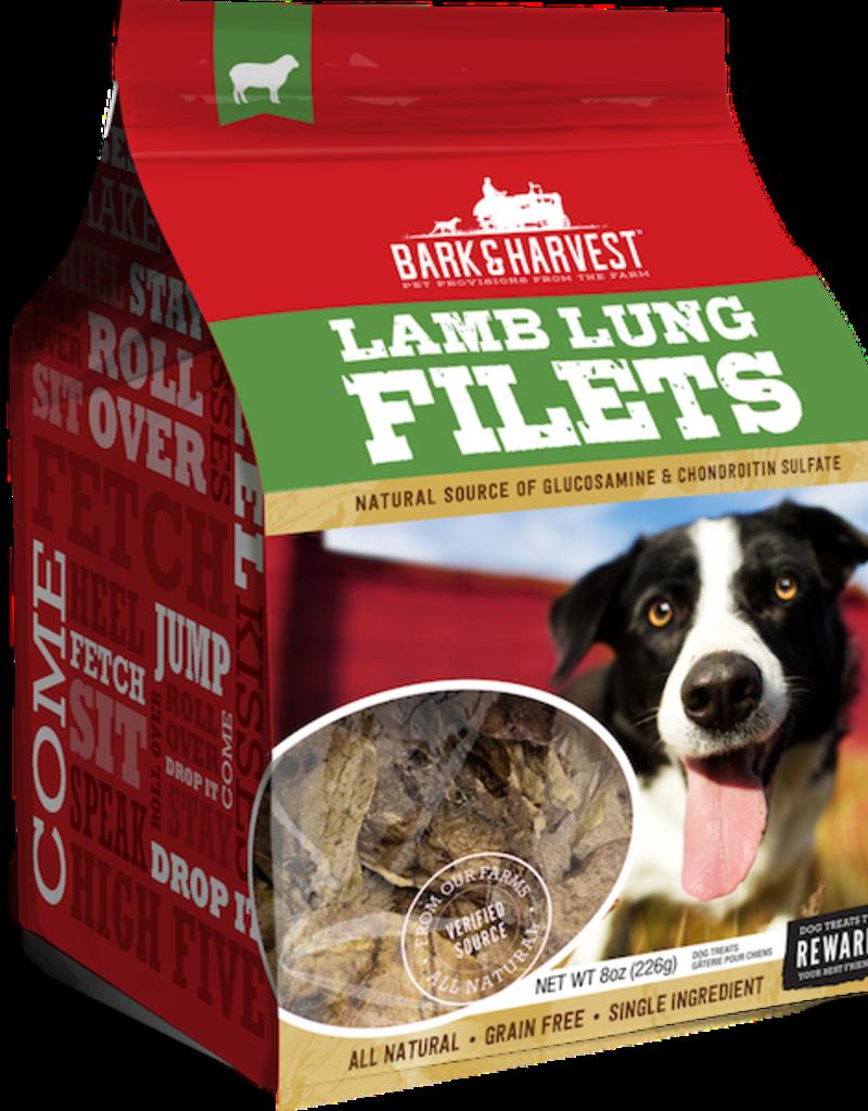 Bark Harvest SF Bark Harvest Lamb Lung Treats