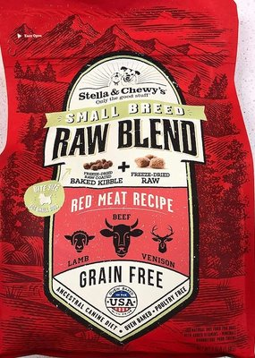 Stella & Chewys Stella & Chewy's Raw Blend Kibble Red Meat Small Breed