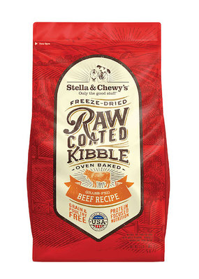 Stella & Chewys Stella & Chewy's Raw Coated Kibble Beef