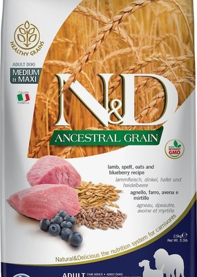 Farmina Farmina Ancestral Grains Lamb 5.5#
