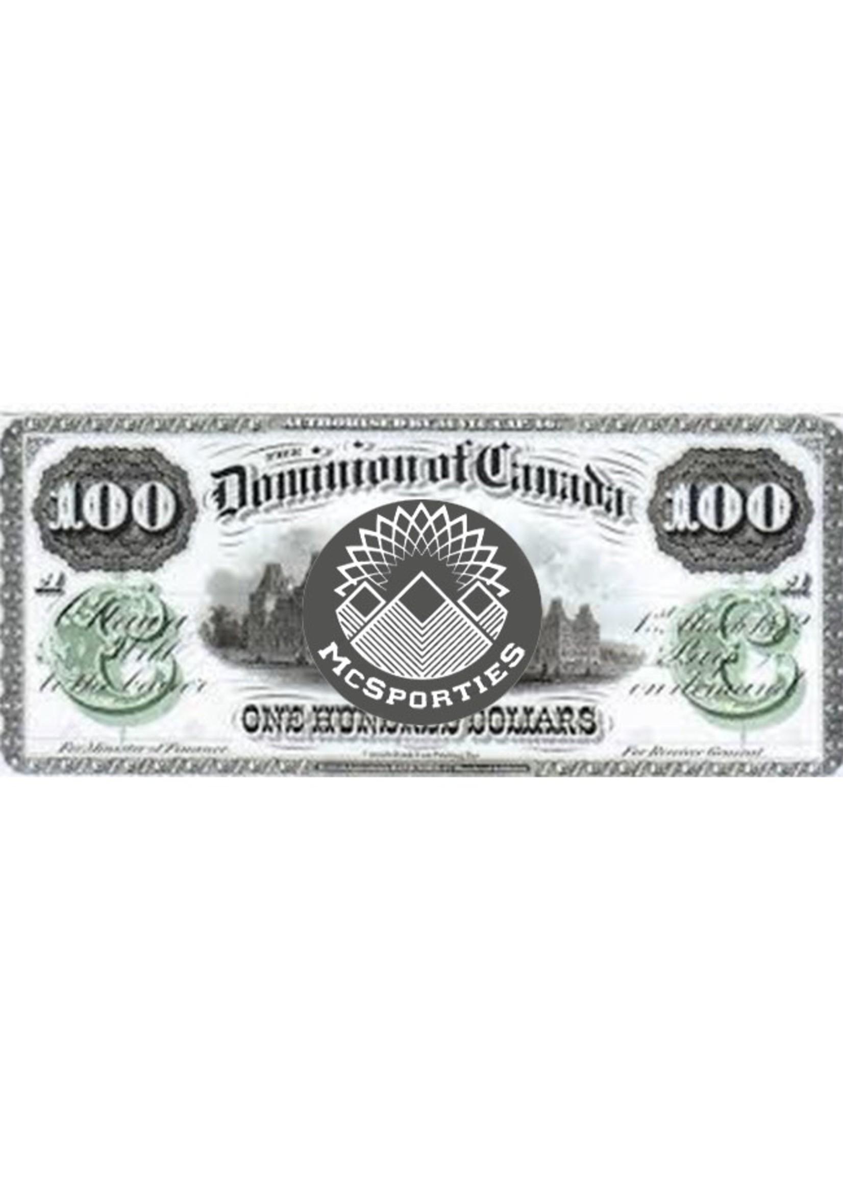 Carte Cadeau - $100