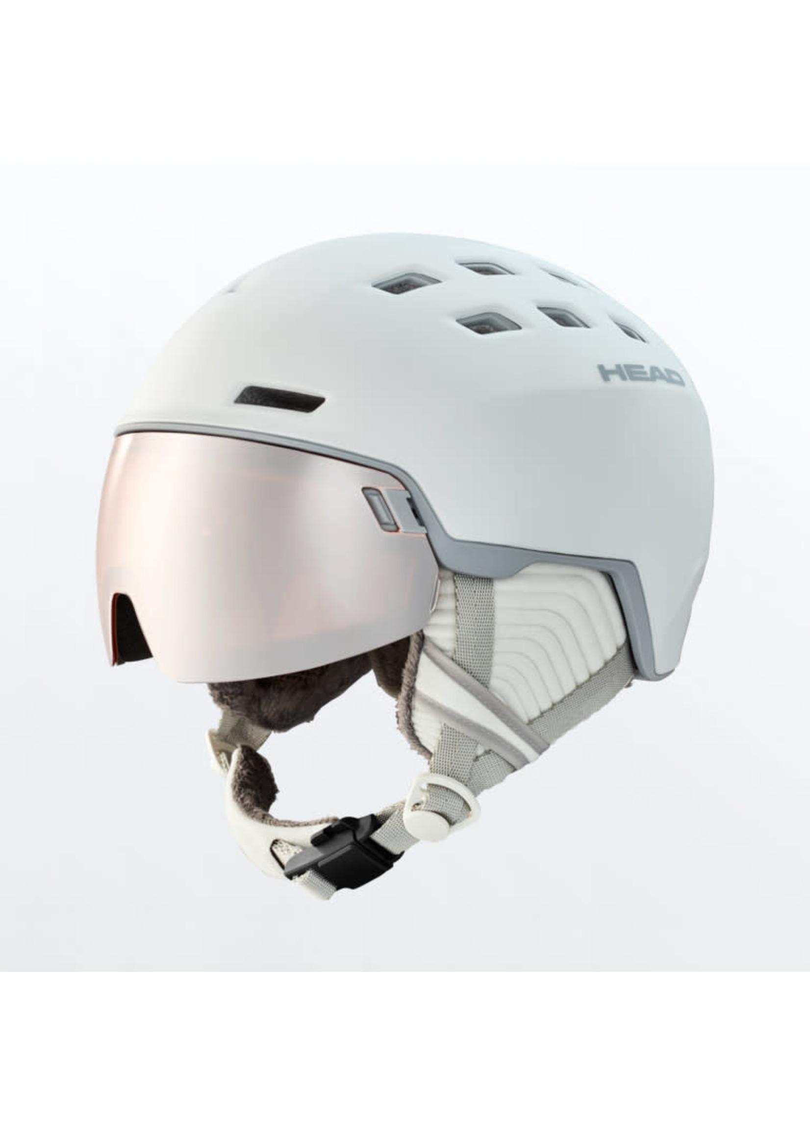 Head Alpine Visor Helmet Rachel w/Spare Lens