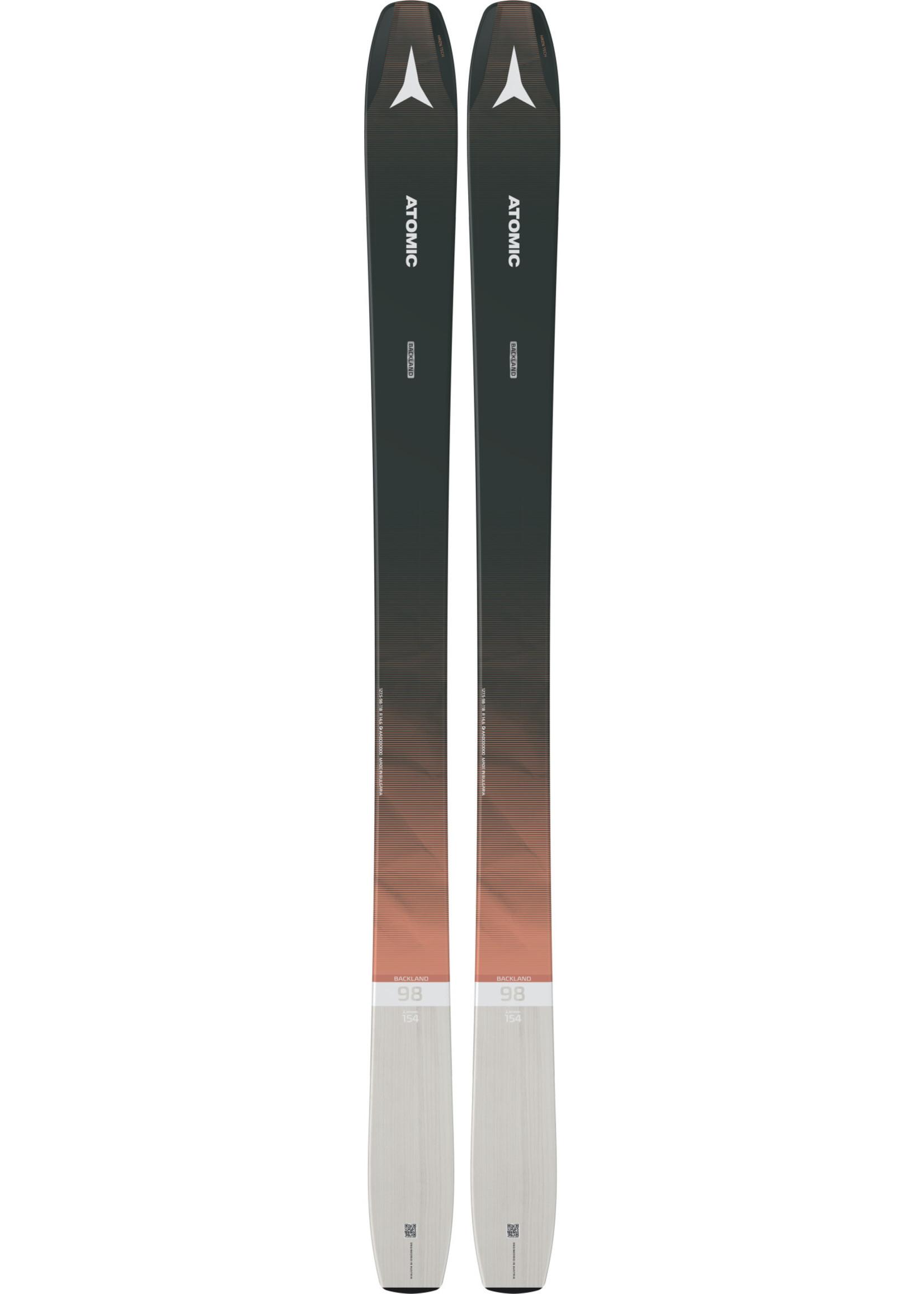 Atomic W. Alpine Ski Backland 98