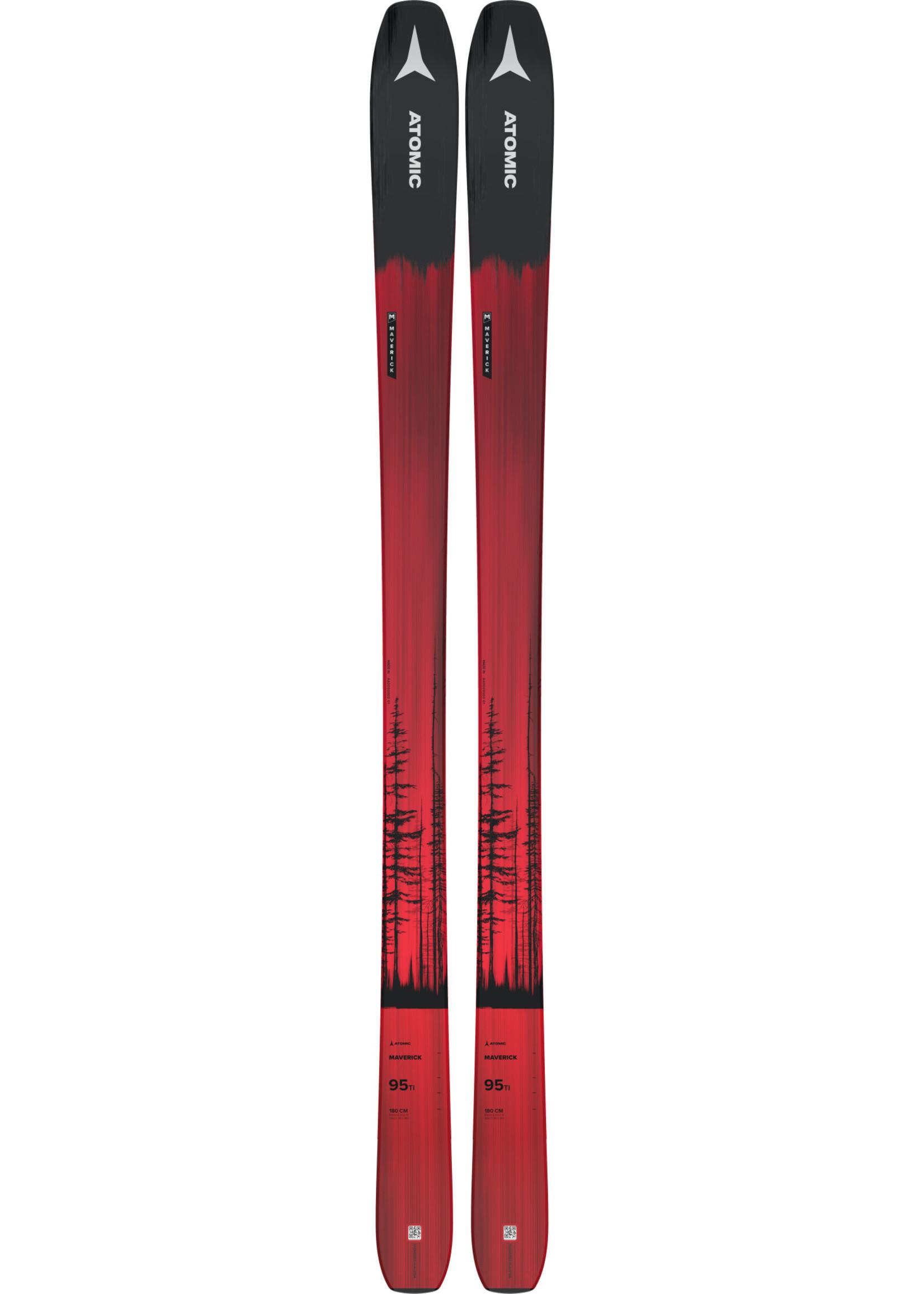 Atomic Alpine Ski Maverick 95 Ti