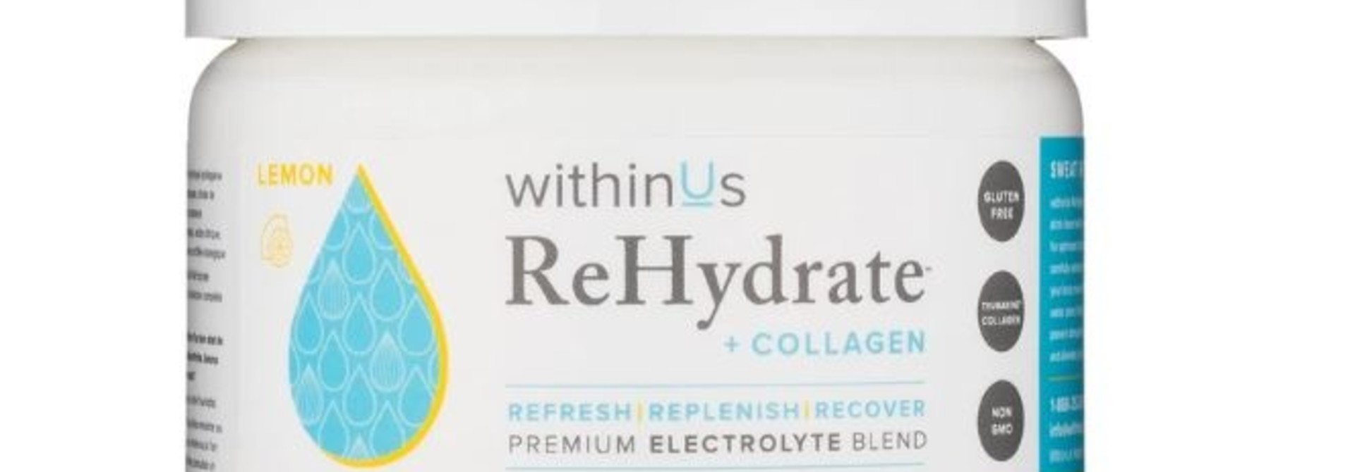 ReHydrate + Collagen - Lemon