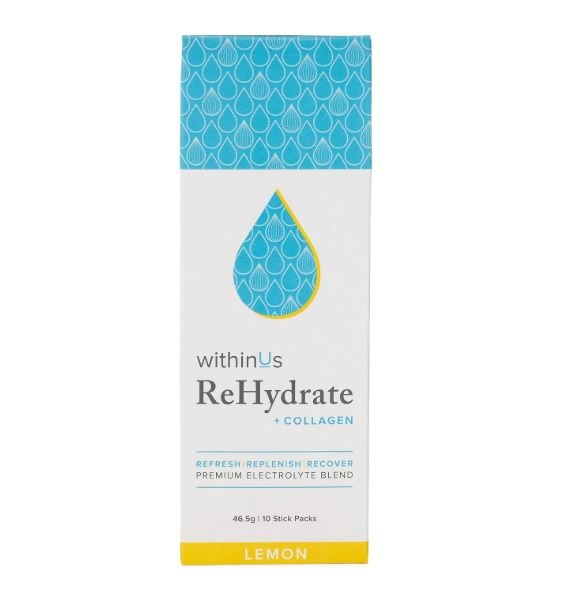 TruMarine - ReHydrate + Collagen Stick Packs - Lemon-1