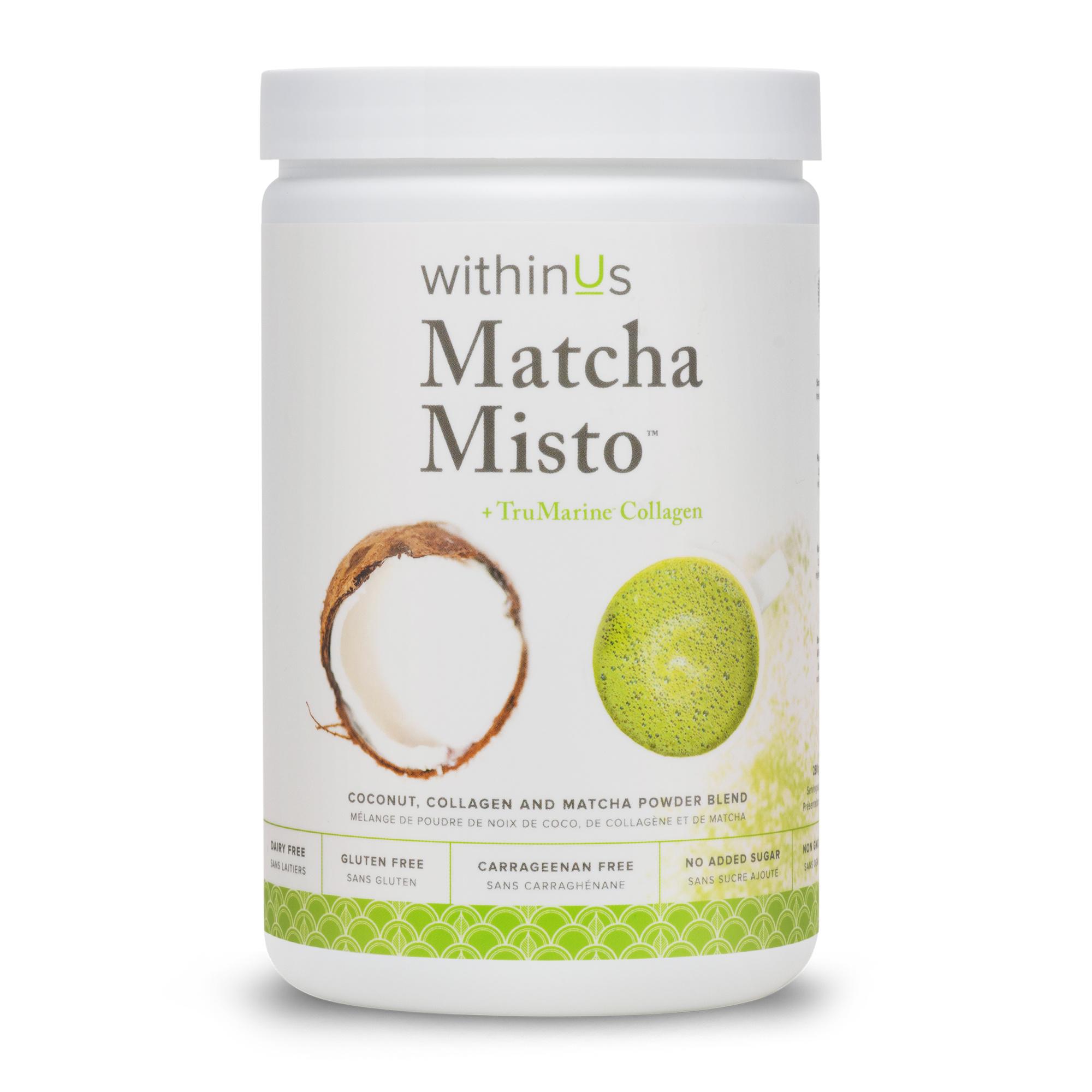 Matcha Misto + Collagen-1