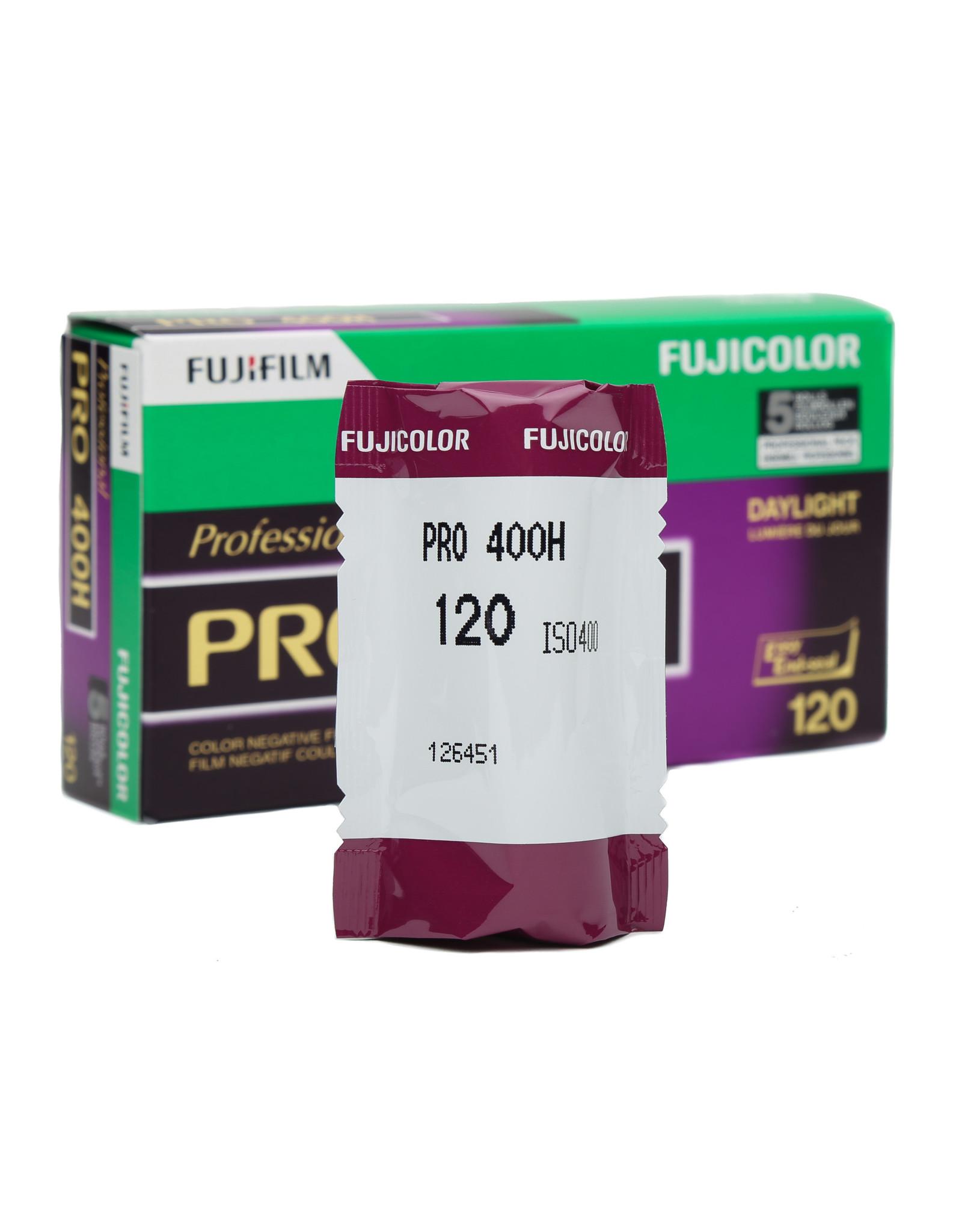 Fuji Fujifilm Pro 400H 120 Fujicolor color negative film