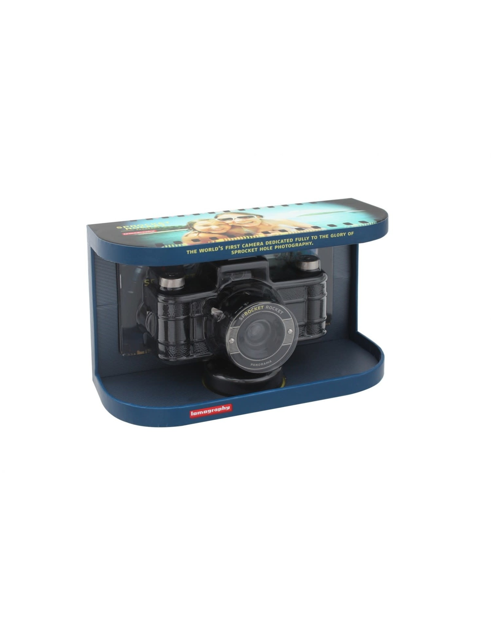 Lomography Sprocket Rocket Panoramic 35mm Camera