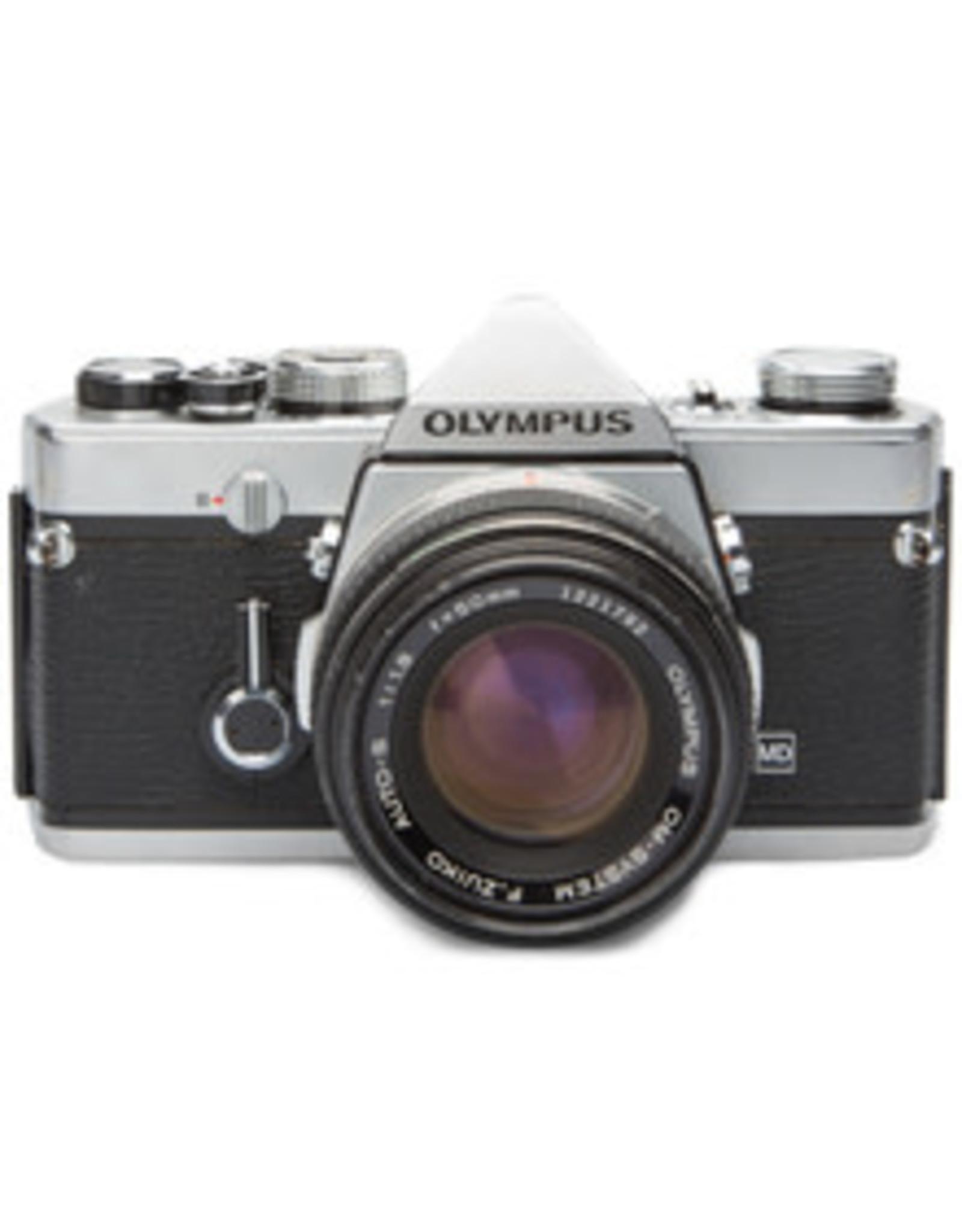 Olympus Olympus OM1 35mm SLR Camera w/50mm f1.8