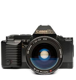 Canon CANON T70 35MM SLR W/28-85MM LENS