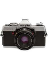 Minolta MINOLTA XG1 35mm SLR Film Camera  w/28mm f2.8 LENS