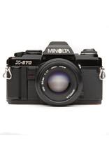Minolta Minolta X-570 35mm SLR W/50mm f2 Lens