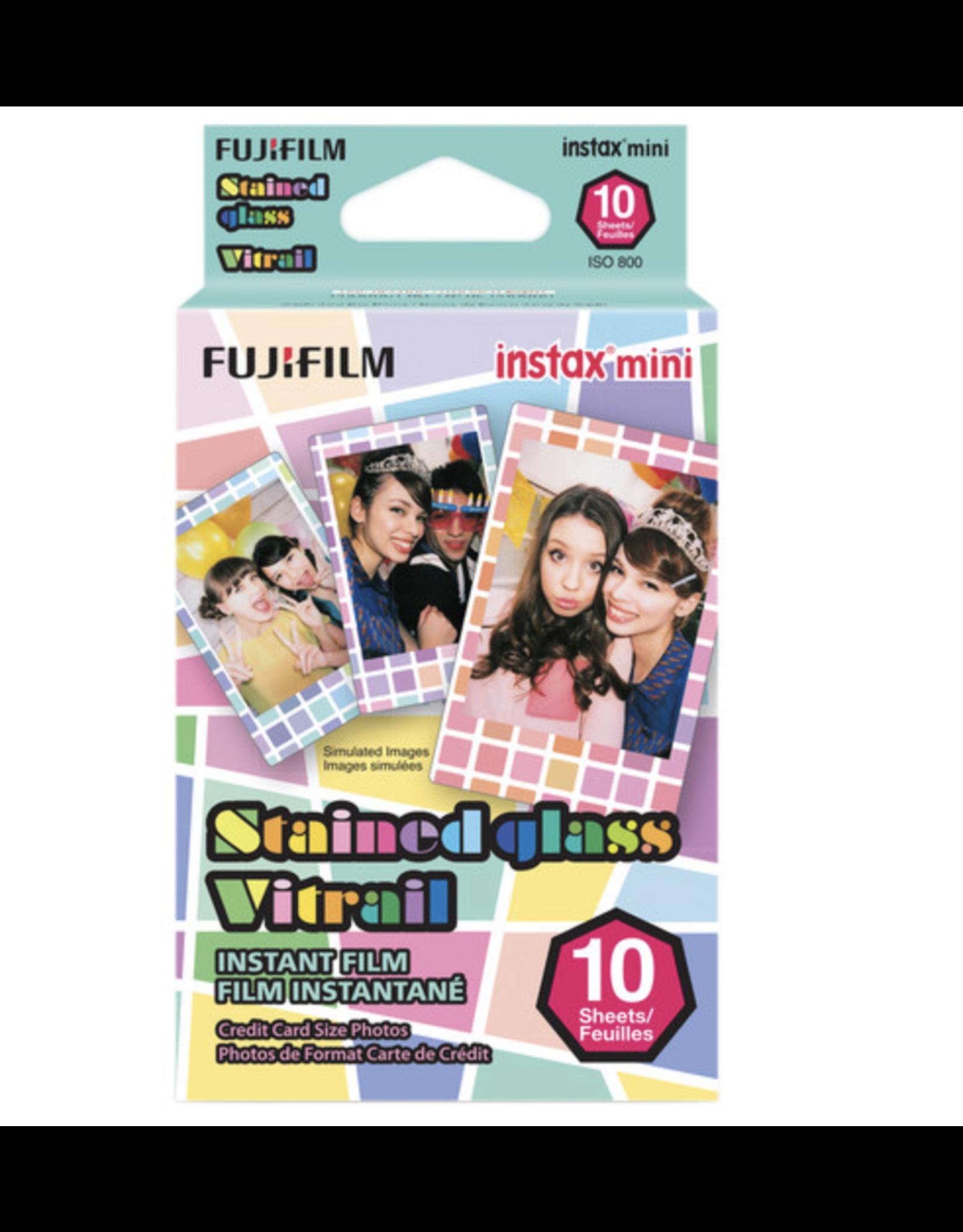 Fuji Fuji Instax Mini Stained Glass Instant Film (10 Shots)