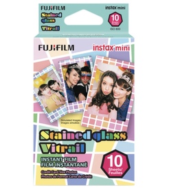 Fuji Fuji Instax Mini Stained Glass Instant Film (10 Shots)