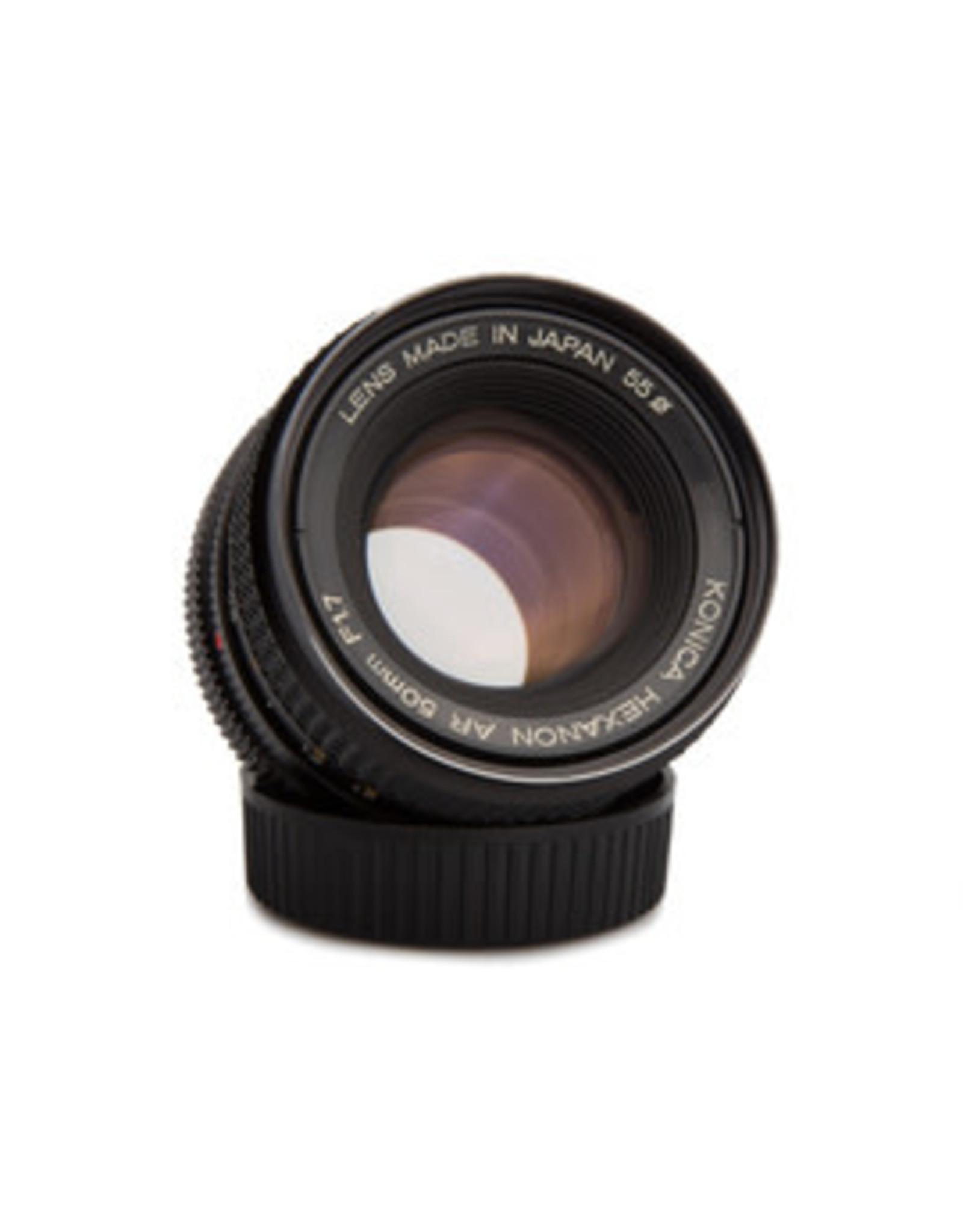 Konica Konica Hexanon 50mm F1.7 Lens for AR