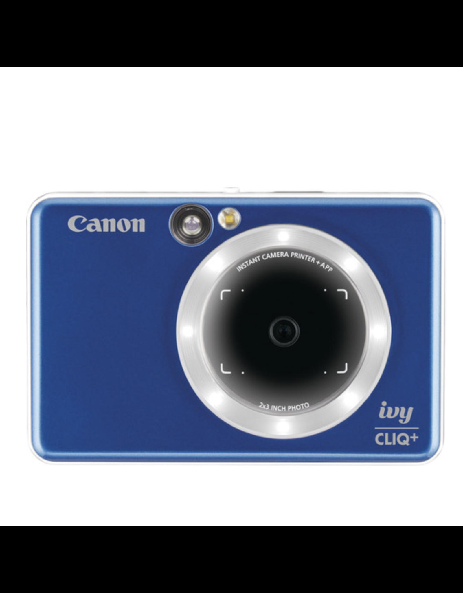 Canon Canon IVY CLIQ+ Instant Camera Printer (Sapphire Blue)