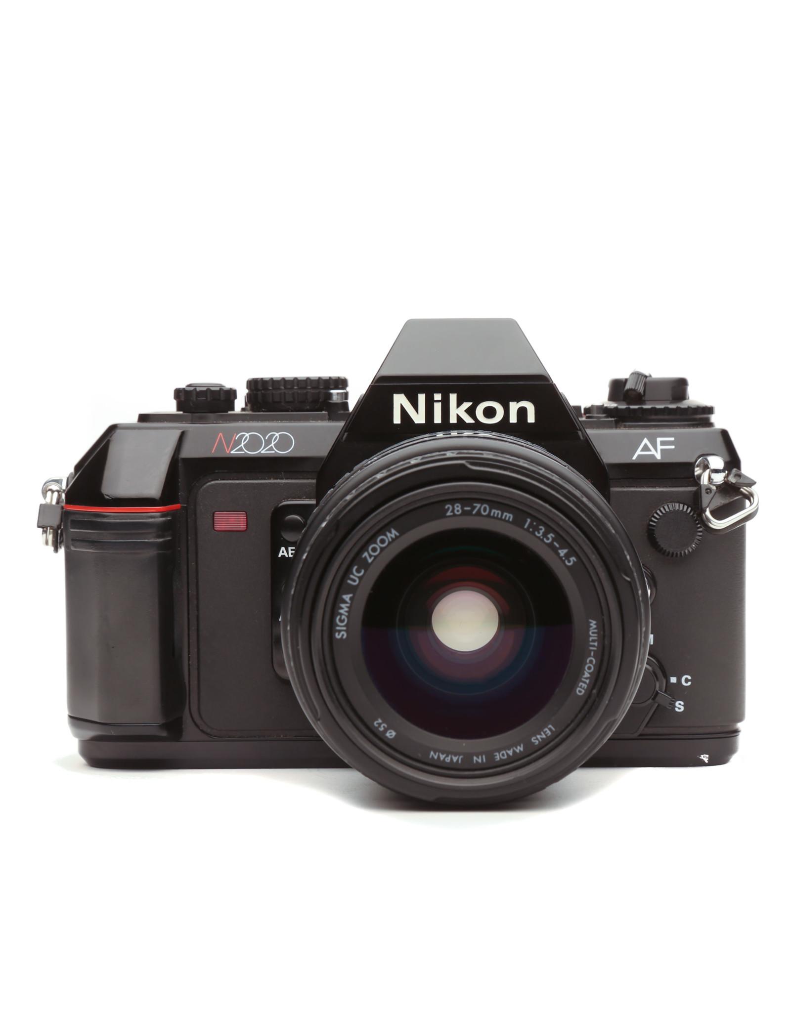 Nikon Nikon N2020 35mm Camera w/35-70mm Lens