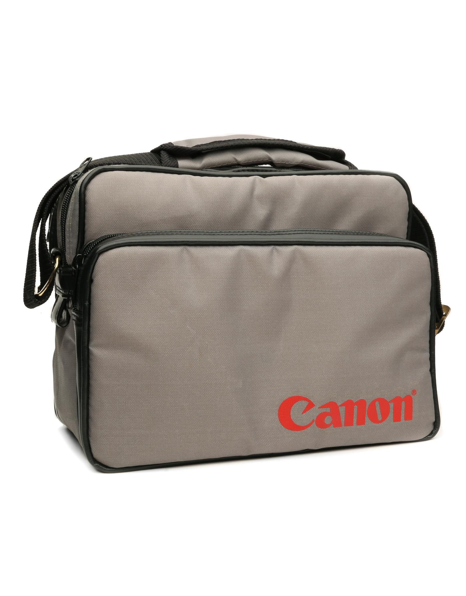 Canon Vintage Grey Canon Camera Bag