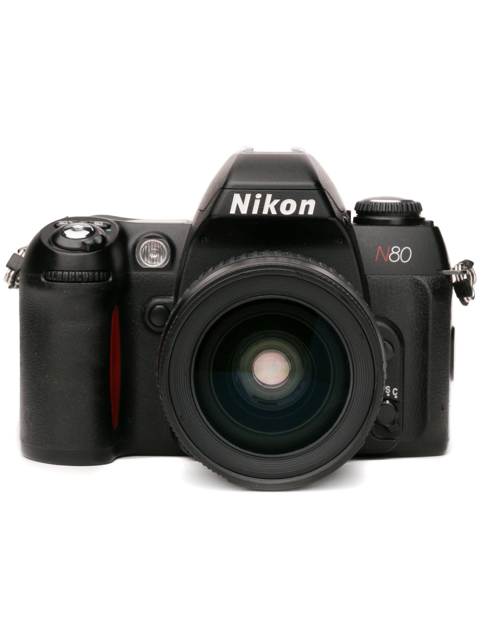 Nikon Nikon N80 35mm SLR Camera w/28-80mm Lens