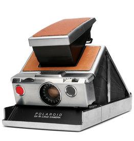 Polaroid Polaroid SX-70 Stainless/Tan Instant Camera