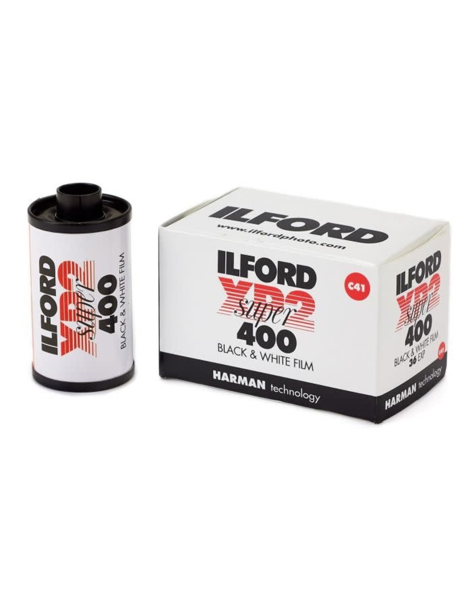 Ilford Ilford XP2 B&W 35mm Film 36 EXP C-41