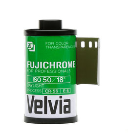 Fuji Fujifilm RVP 135-36 Fujichrome Velvia 50 Professional Color Slide film *expired