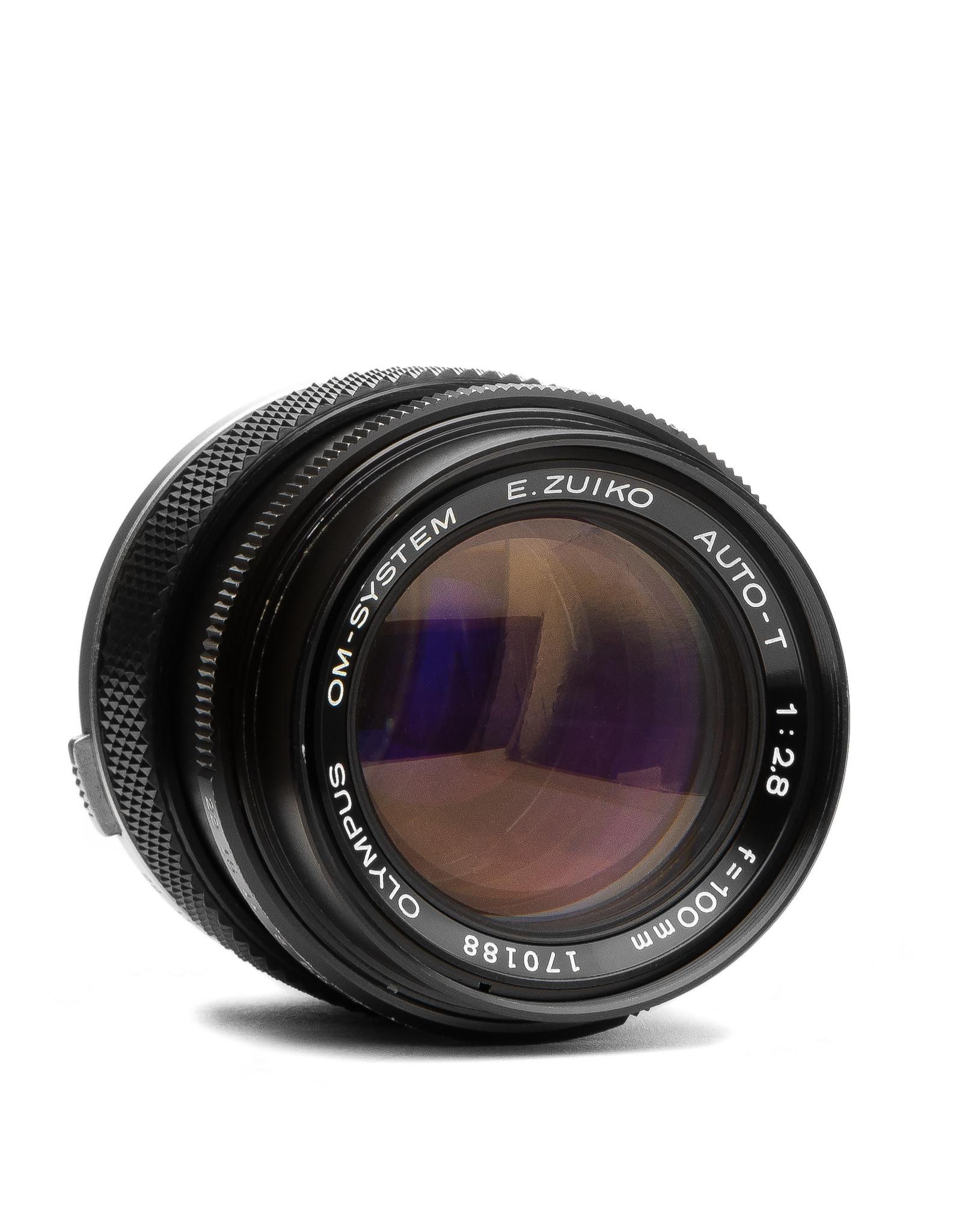Olympus Olympus E. Zuiko Auto-T 100mm F/2.8 Lens for OM