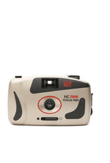 HC 2000 Focus Free 35mm Point and Shoot Film Camera