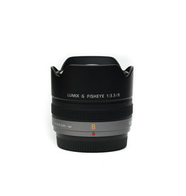 Panasonic Panasonic Lumix G Fisheye 8mm f/3.5 Lens for Micro Four Thirds