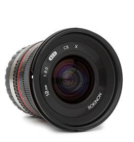 Rokinon Rokinon 12mm f/2.0 NCS CS Lens for Fujifilm X Mount