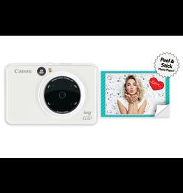 Canon Canon IVY CLIQ+ Instant Camera Printer (Pearl White)