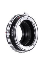 K&F Concept Lens Adapter Nikon F(G)-Fuji FX
