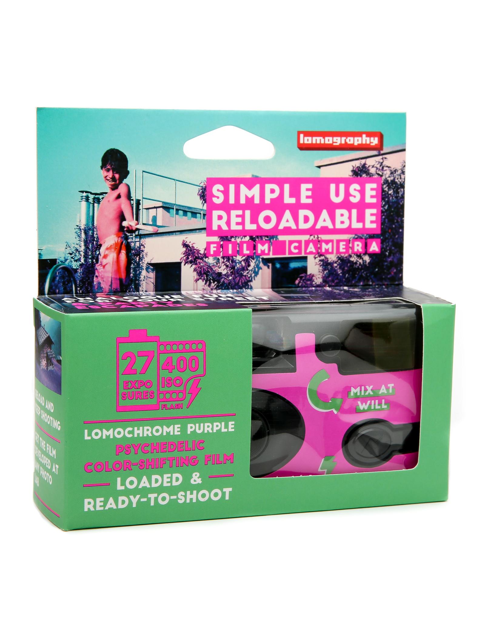 Lomography Simple Use Camera Color Lomo'Chrome Purple