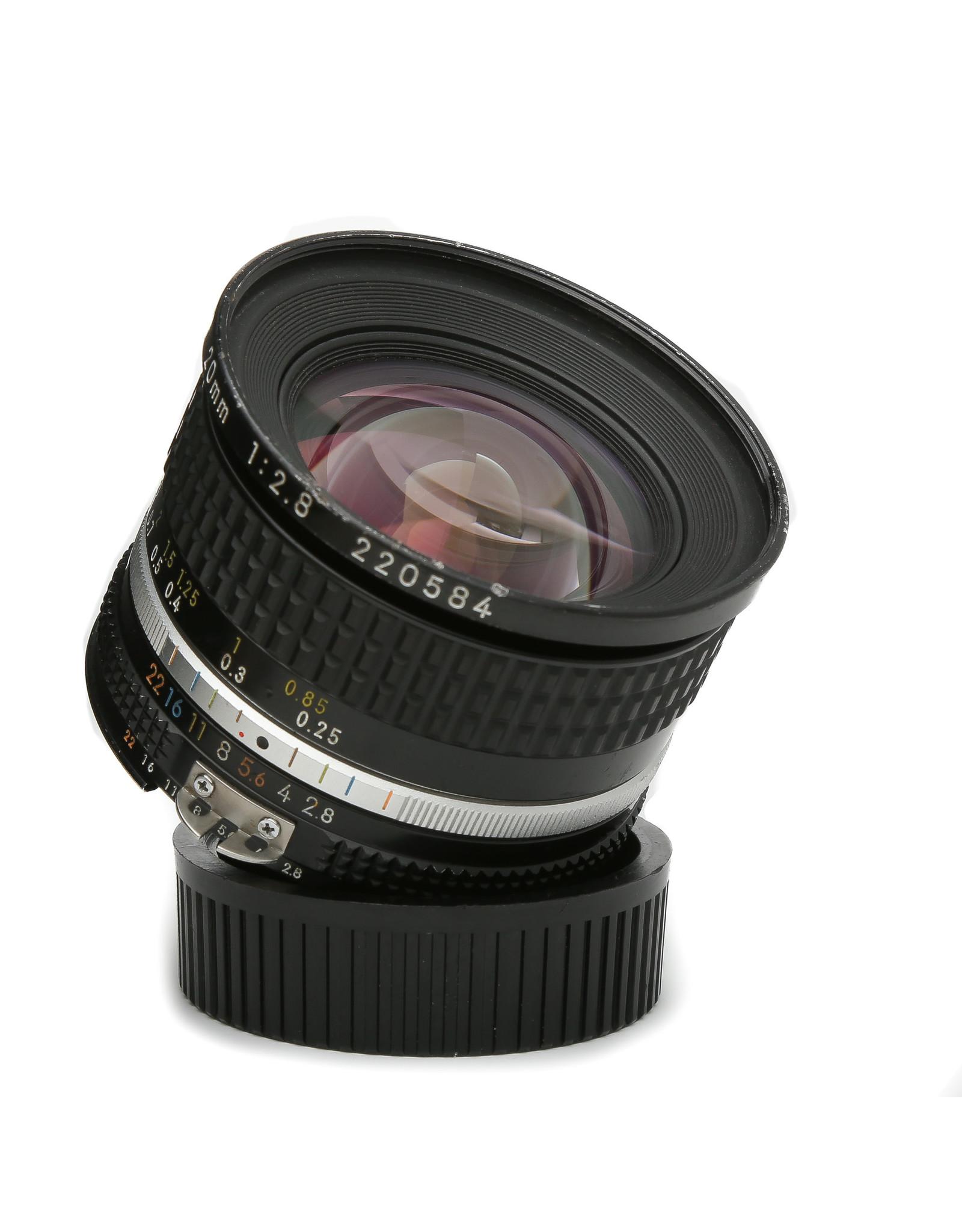 Nikon Nikon Nikkor 20mm f2.8 AiS Lens