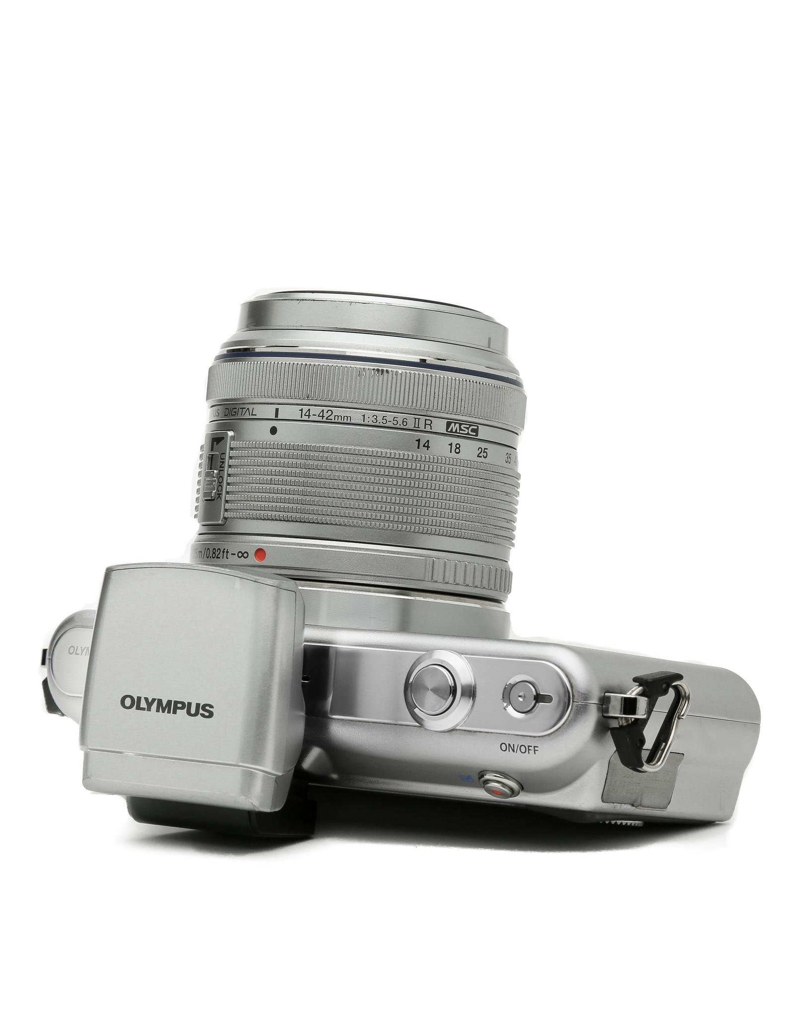 Olympus Olympus Pen Mini EPM-1 Digital Mirrorless Camera w/14-42mm Lens