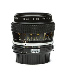 Nikon 55mm f3.5 Ai Micro (macro) Nikkor Lens