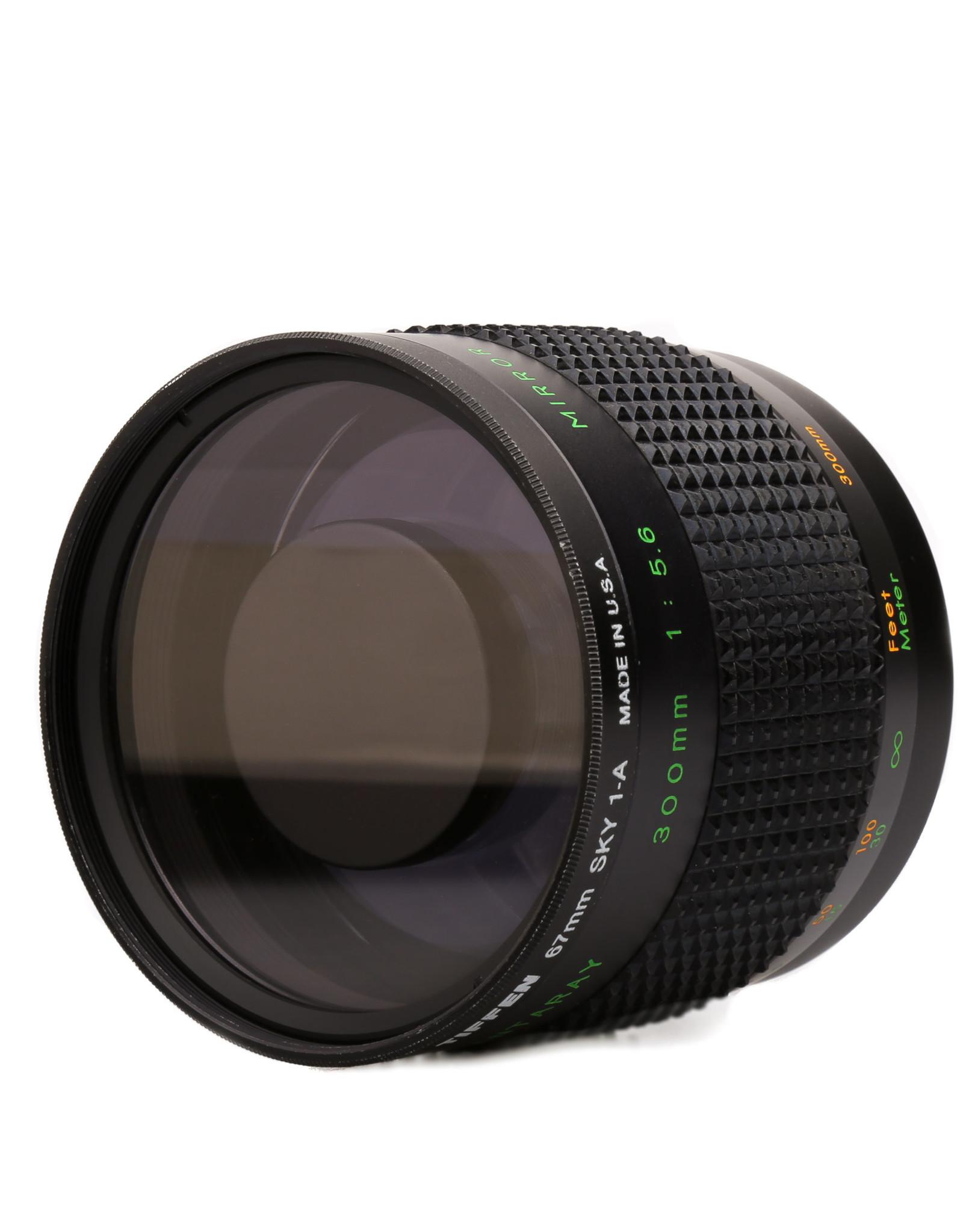 Quantaray Quantaray 300mm f/5.6 Mirror Lens T2 (universal)