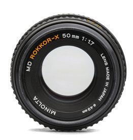 Minolta Minolta 50mm f/1.7 Rokkor X Lens MD