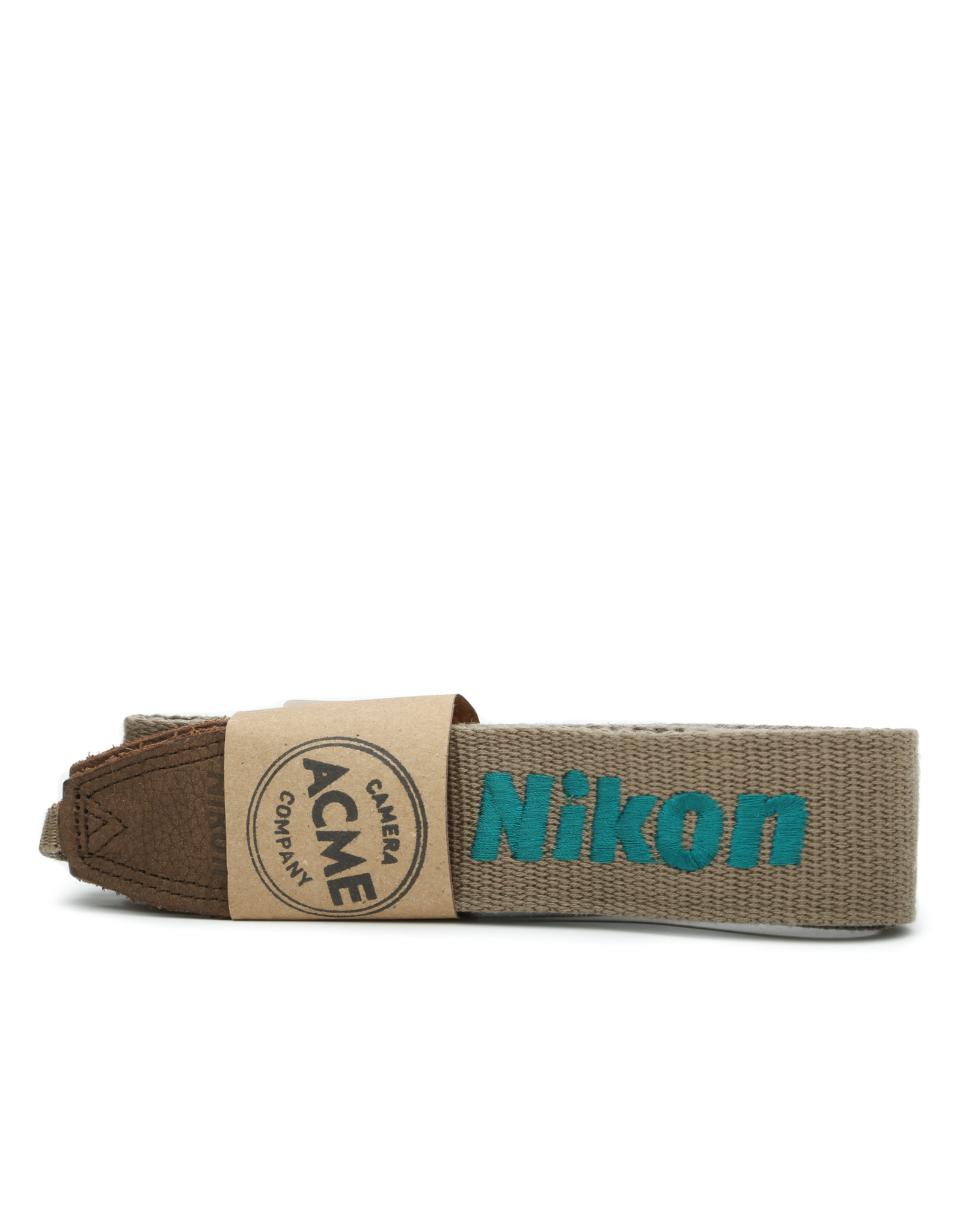 Nikon Nikon Tan and Teal Original Camera Strap