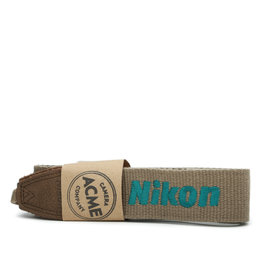 Nikon Nikon Tan and Teal Original Camera Strap
