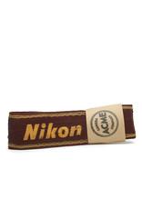 Nikon Nikon Maroon and Gold Original Camera Strap