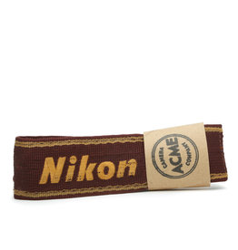 Nikon Nikon Maroon and Gold Original Camera Strap