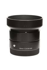 Sigma Sigma 30mm f/2.8 DN Lens for Sony E-mount Cameras (Black)