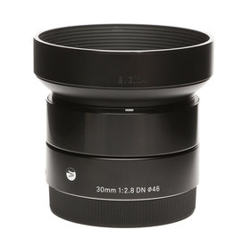 Sigma Sigma 30mm f/2.8 DN Lens for Sony E-mount Cameras (Black)