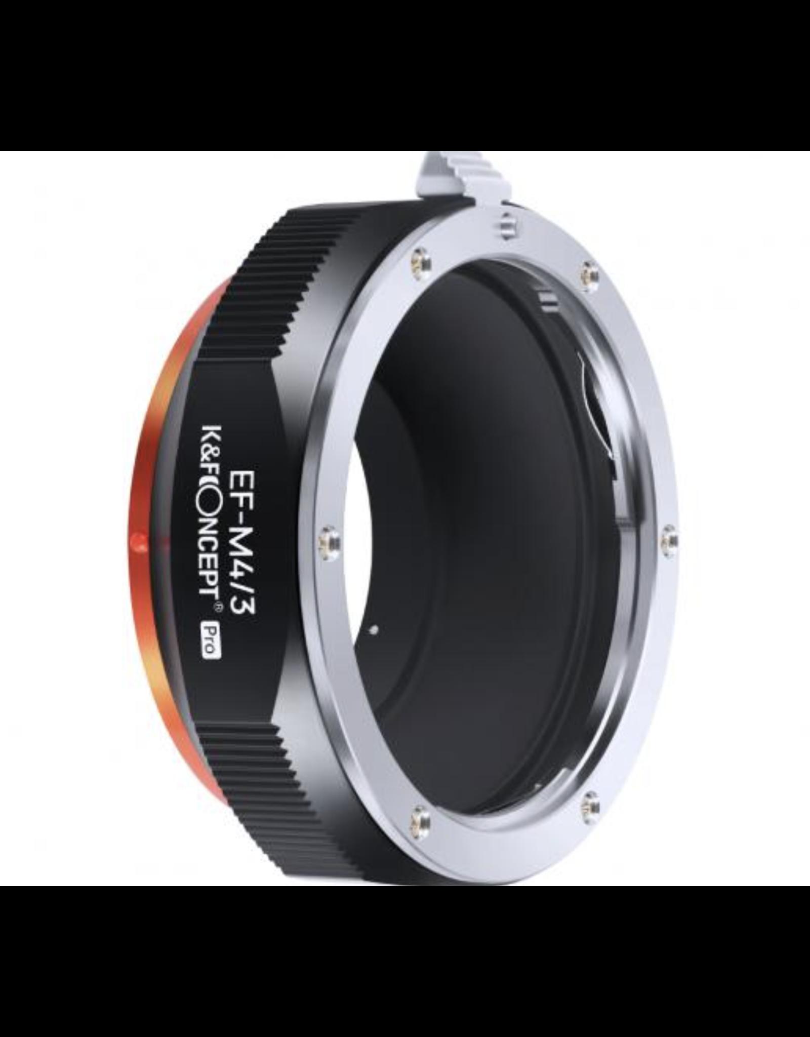 K&F K&F Concept Lens Adapter EOS-M4/3