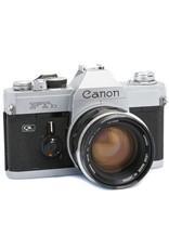 Canon CANON FTB QL 35MM SLCanon FTB QL 35mm SLR Camera w/50mm f1.4 FL Lens